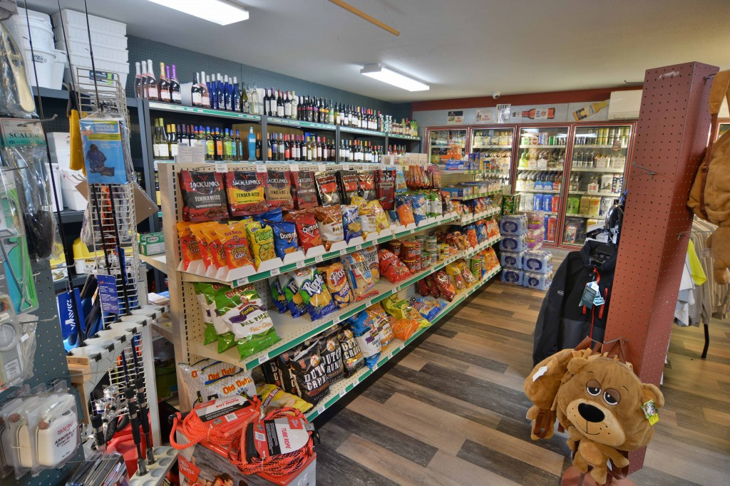 Fully stocked bait shop and convenience store!