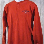 Lake Namakagon Orange Long Sleeve Pullover
