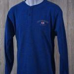Long Sleeve Blue Pullover