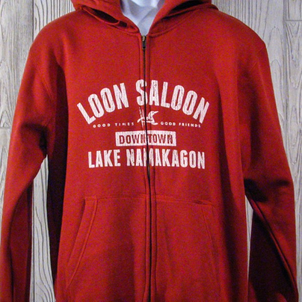 "Loon Saloon Namakagon ""Good Times. Good Friends"" Sweathshirt"