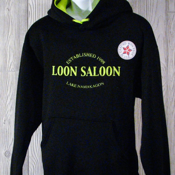 Established 1998 Loon Saloon Hoody
