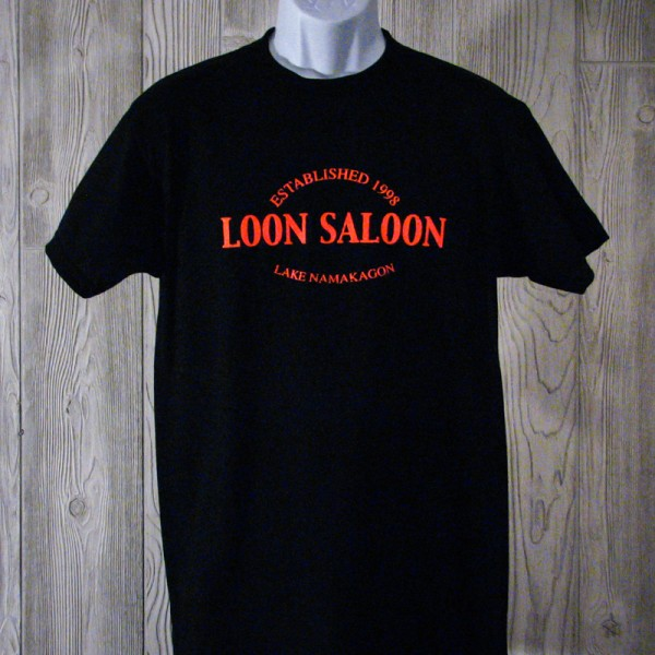 "Loon Saloon ""Established 1998"" T-Shirt"