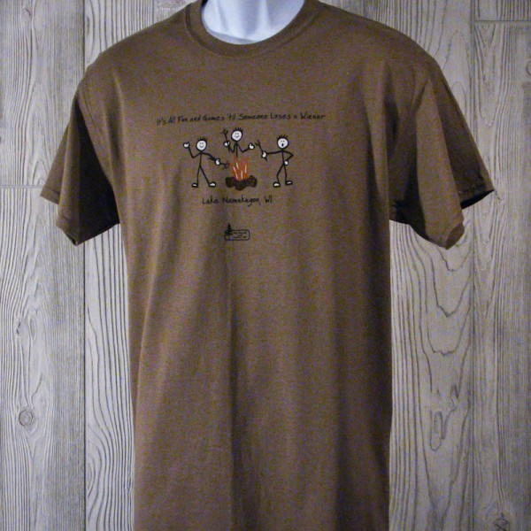 "Lake Namakagon ""Fun and Games"" T-shirt"