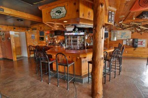 Bar area at Loon Saloon