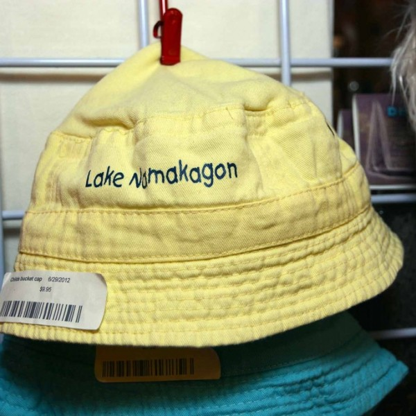 Lake Namakagon Childrens Bucket Cap